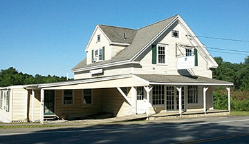 Pease Insurance Agency, West Rockport, Maine.
