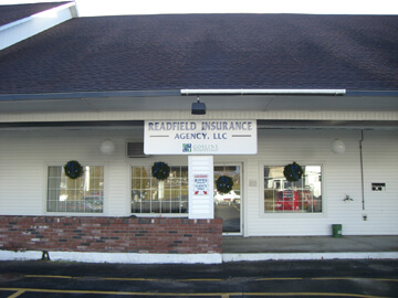 Readfield Insurance Agency, Manchester, Maine.