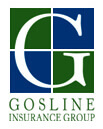 Logo for Gosline Insurance Group, Gardiner, Maine.